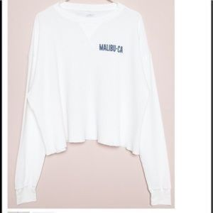 Brandy Melville Thermal Malibu Top